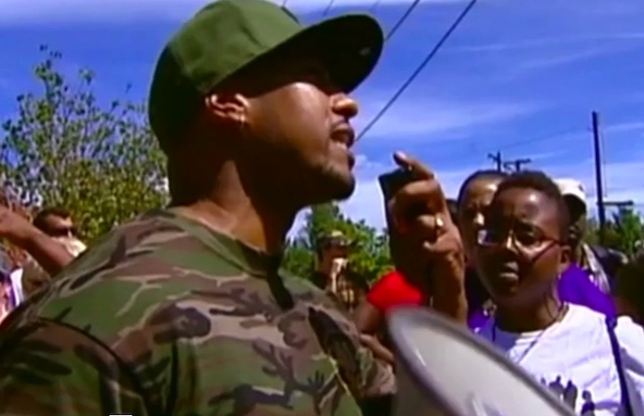Photo of anti-gang activist Terrance Roberts in Denver